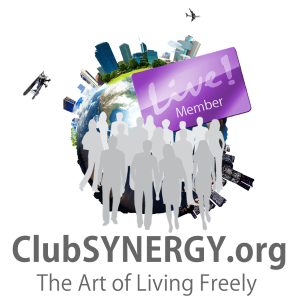 Club SYNERGY ~ The Art of Living Freely